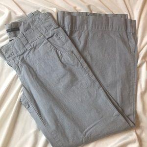 GAP wide leg pinstripe Pants